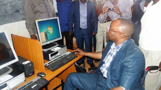 WESTLANDS MP DONATES COMPUTERS TO KANGEMI POLYTECHNIC