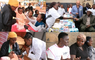 WESTLANDS RESIDENTS BENEFIT FROM A FREE MEDICAL CAMP
