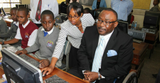MP COMMISSIONS A COMPUTER LAB AT HOSPITAL HILL PRIMARY SCHOOL