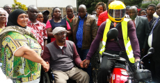 WESTLANDS GRASSROOTS WOMEN GROUPS RECEIVE MOTORCYCLES